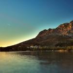 Omis - Kroatien - Landschaft - Sonnenuntergang am Meer
